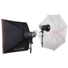 Heimaljósastudio 2 x 150w - Interfit Mark III image